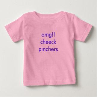 omg!!cheeck pinchers baby T-Shirt