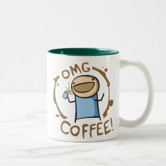 OMG Coffee Coffee Mugs