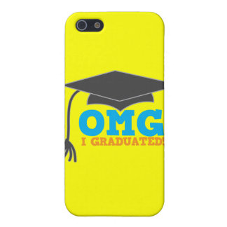 OMG congratuations I graduated! Cover For iPhone SE/5/5s