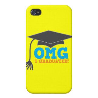 OMG congratuations I graduated! iPhone 4 Case