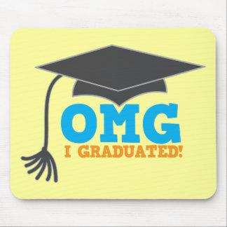 OMG congratuations I graduated! Mouse Pad