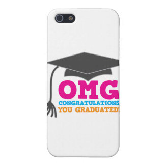 OMG congratuations you graduated! Case For iPhone SE/5/5s