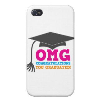 OMG congratuations you graduated! iPhone 4 Cover