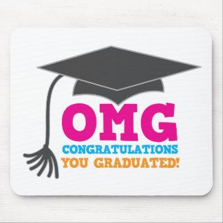 OMG congratuations you graduated! Mouse Pad