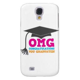 OMG congratuations you graduated! Samsung Galaxy S4 Cover