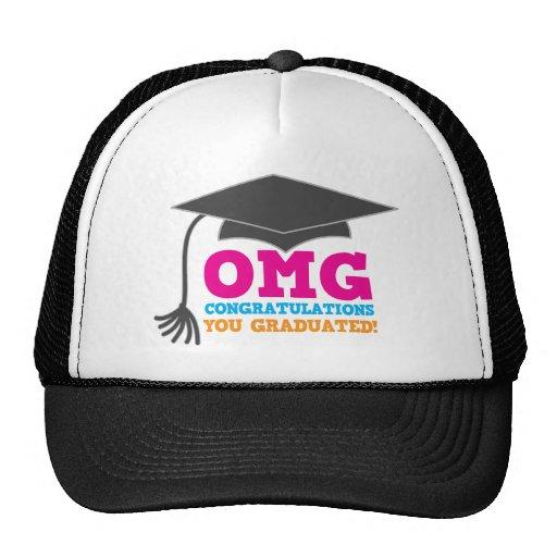 OMG congratuations you graduated! Trucker Hats