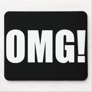 OMG! (dark) Mouse Pad