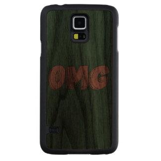 OMG Doodle Art Slim Walnut Samsung Galaxy S5 Case