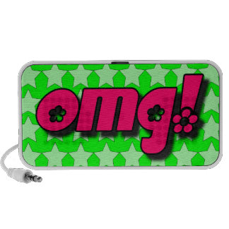 OMG! Doodle iPod Speaker
