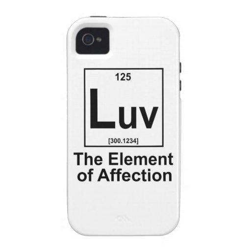 OMG el elemento de la sorpresa Vibe iPhone 4 Funda