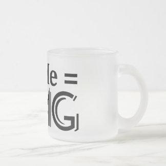 OMG Equation. You + Me = O.M.G. Coffee Mug