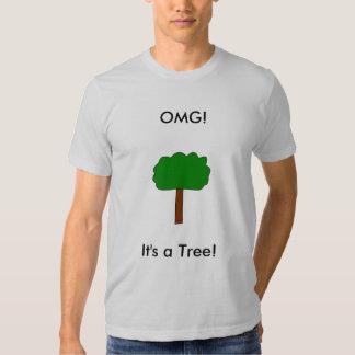 ¡OMG! ¡, Es un árbol! Camiseta Playera
