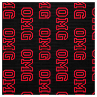 OMG fabric pattern