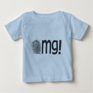 omg fingerprint text baby T-Shirt