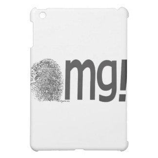 omg fingerprint text case for the iPad mini