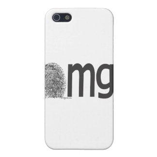 omg fingerprint text iPhone SE/5/5s case