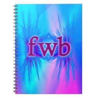 ¡OMG! fwb Spiral Notebooks