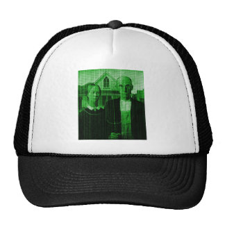 OMG GMO farmer Matrix Trucker Hat