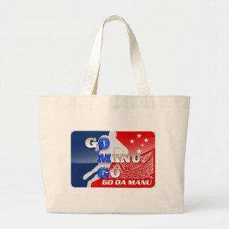 OMG - Go Manu Go Canvas Bag