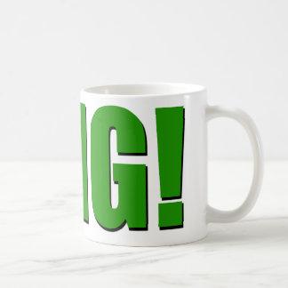 OMG green Classic White Coffee Mug