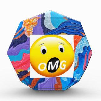 OMG Hats Acrylic Award