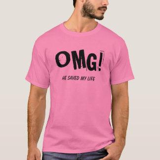 "OMG!, he saved my life shirt ""christian t-shirt"""