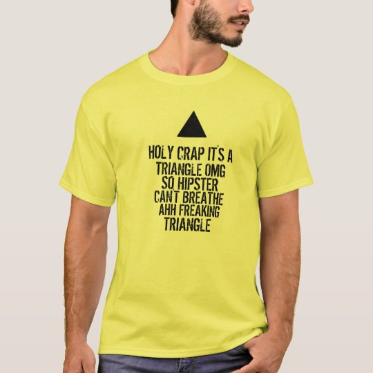 OMG Hipster Triangle T-Shirt