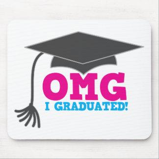 OMG I graduado Alfombrillas De Ratones