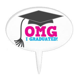 ¡OMG I GRADUADO! gran regalo de la graduación Figuras De Tarta