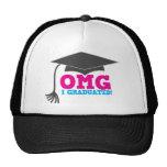 ¡OMG I GRADUADO! gran regalo de la graduación Gorros