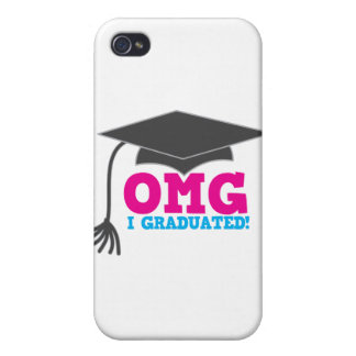 OMG I graduated Case For iPhone 4