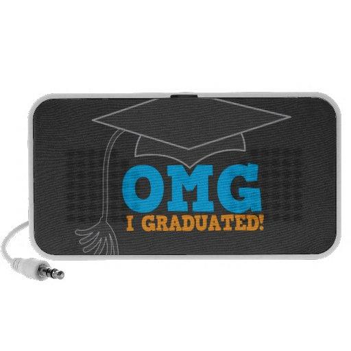 OMG I graduated speakers blue