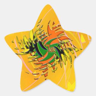 ¡OMG! idk Pegatina En Forma De Estrella