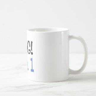 OMG I'm 1 (blue) Coffee Mug