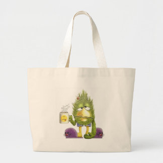 OMG It's Monday Large Tote Bag