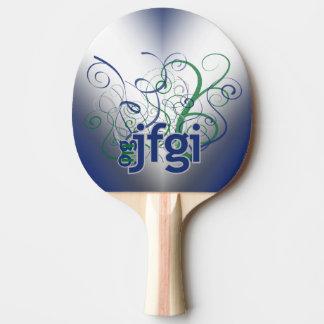 OMG! jfgi Ping Pong Paddle