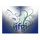 OMG! jfgi Postcard