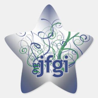 OMG! jfgi Star Sticker
