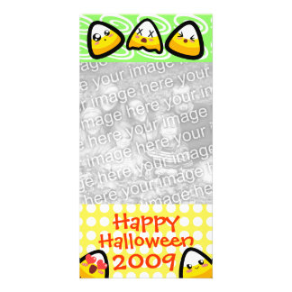OMG, Kawaii Candy Corn! Photo Card