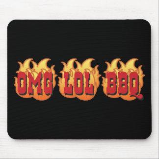 OMG LOL BBQ MOUSE PAD