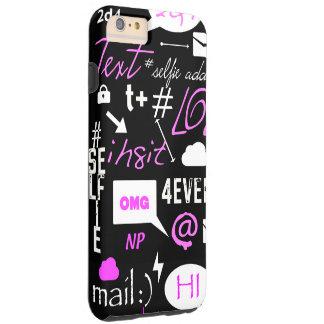 OMG, LOL, #, @ caso del iphone 6 Funda De iPhone 6 Plus Tough