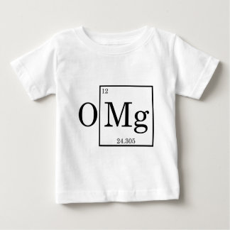 OMG - Magnesium - Mg - periodic table Baby T-Shirt