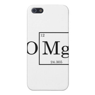 OMG - Magnesium - Mg - periodic table Cover For iPhone SE/5/5s