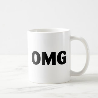OMG CLASSIC WHITE COFFEE MUG