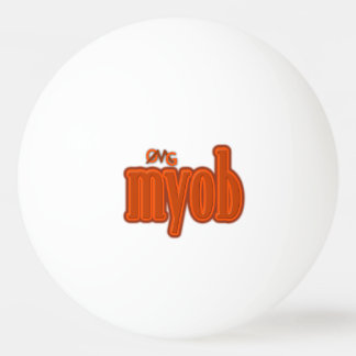 OMG! myob Ping-Pong Ball