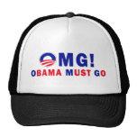¡OMG! ¡Obama debe ir! Gorros