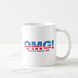 OMG: ¡Obama debe ir! Taza