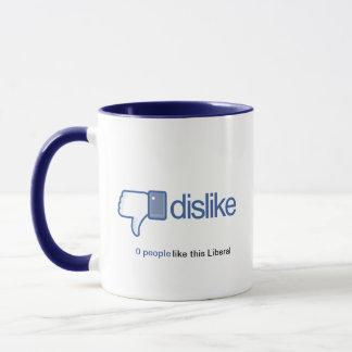 OMG! Obama Must Go! Dislike Coffee Mug