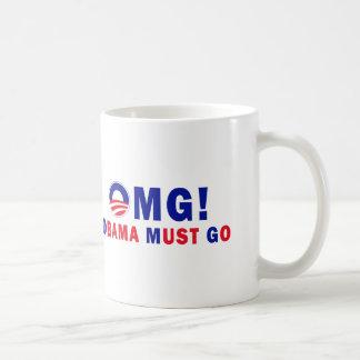 OMG! Obama Must Go! Coffee Mug