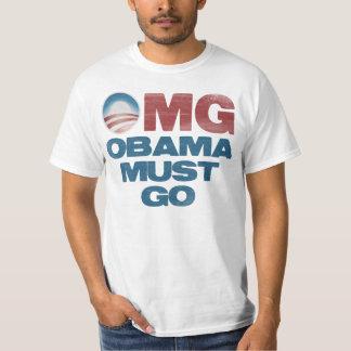 OMG: Obama Must Go T-Shirt